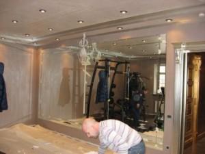 Зеркальная стена в Екатеринбурге