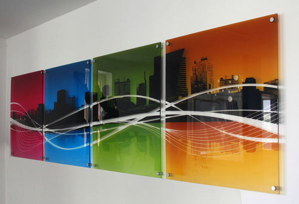 Картины на стекле УФ печать в Екатеринбурге