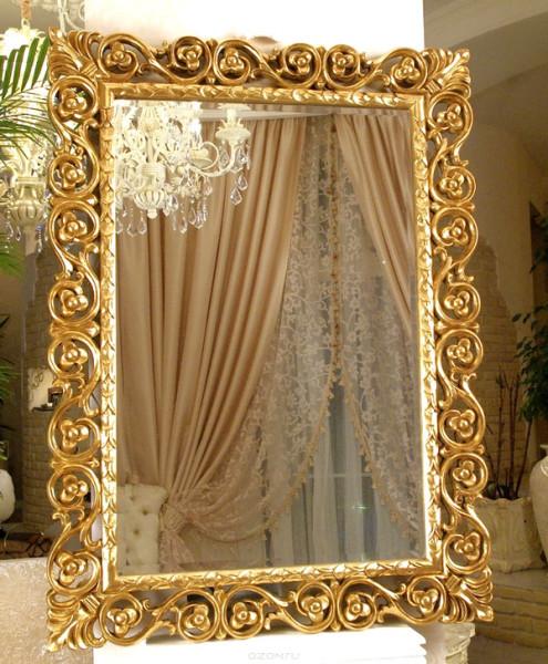 Зеркало в красивой раме на заказ