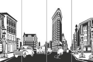 Пескоструйный рисунок Архитектура