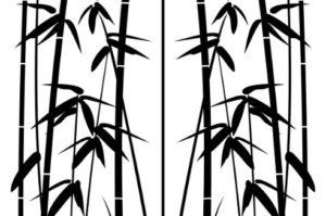 Пескоструйный рисунок - бамбук