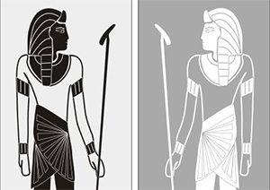 Пескоструйный рисунок Египет