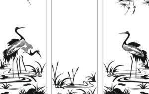 Пескоструйный рисунок - птицы