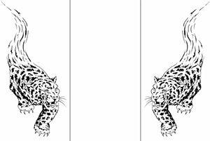Пескоструйный рисунок - животные