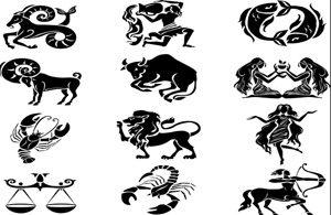 Пескоструйный рисунок - знаки зодиака